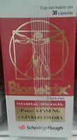 Biometrix Multi- Vitamins + Ginseng And Ginko Biloba -30 Capsules-free Shipping
