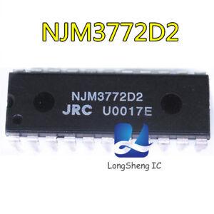 Nuevo-5PCS-NJM3772D2-DIP-22-Nuevo