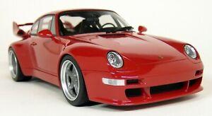 GT-Spirit-1-18-Scale-Porsche-911-993-Gunther-Werks-400R-Red-Resin-Model-Car