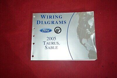 2005 Ford Taurus Mercury Sable Wiring Diagram Manual FCCA ...