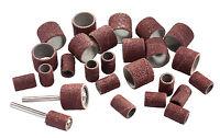 26 große + kleine Schleifbänder Schleifhülsen + 2 Halter Dremel, Mini-Schleifer