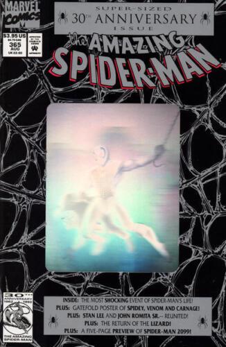 Direct Edition Amazing Spider-Man #365 MARVEL COMICS August 1992