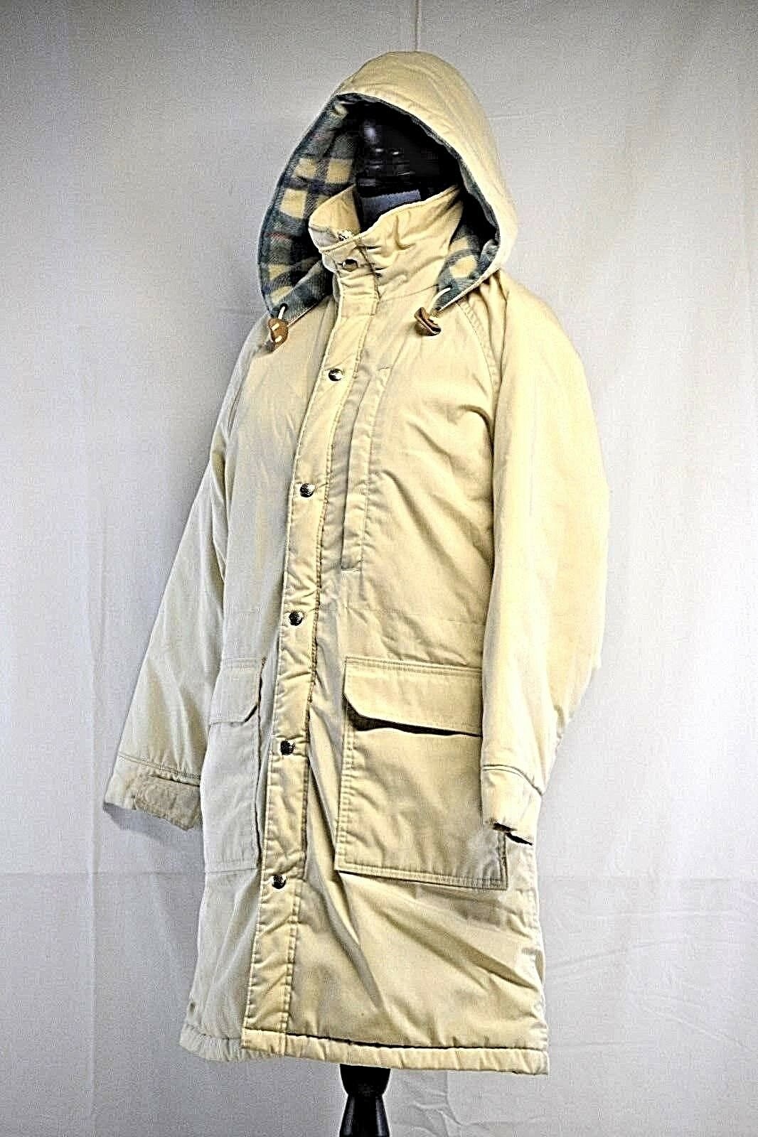 ... L.L.BEAN Sz Damenschuhe Beige Long Winter Warmer Hooded Parka Coat Sz  L.L.BEAN M 18fd33 ... 2beb460e59