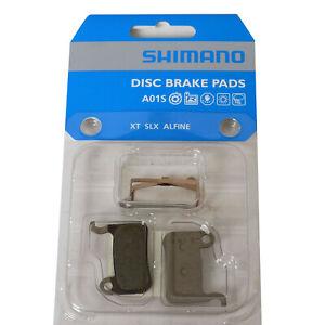 Genuine Shimano A01S BR-M775 Resin Disc Brake Pads fits XT XTR SLX Deore Alfine