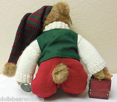"#1474 Bear Jingles/"" Annual L.E NWT 14/"" Bearington /""Mr Musical Bear w\Ornament"