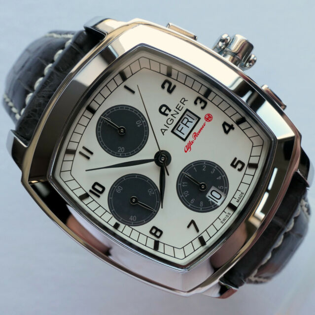 the cheapest running shoes new appearance Alfa Romeo Aigner Classic Car Accessory Driver Automatic Chronograph Watch