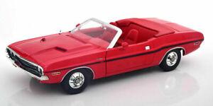 "Dodge Challenger R/T Cabrio rot "" the Mod Squad "" 1968 - 1973 - 1:18 Greenlight"