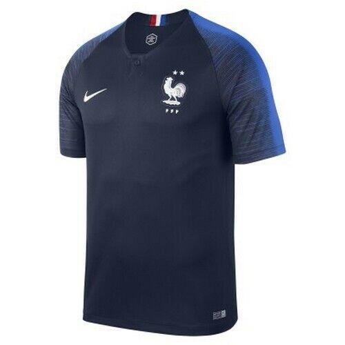Neuf Taille L Maillot Equipe De France 2 Étoiles