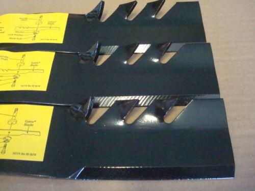 "52/"" GATOR BLADES replaces TORO Bobcat EXMARK 107-1741-03 107-1742 105-7781"