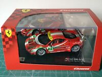 CARRERA EVOLUTION 1:32 FERRARI 458 GT2 #71 AF CORSE 2012  VER FOTO