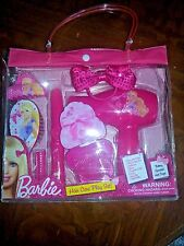 Barbie Mattel 8 piece Hair Care Play Set Brand New