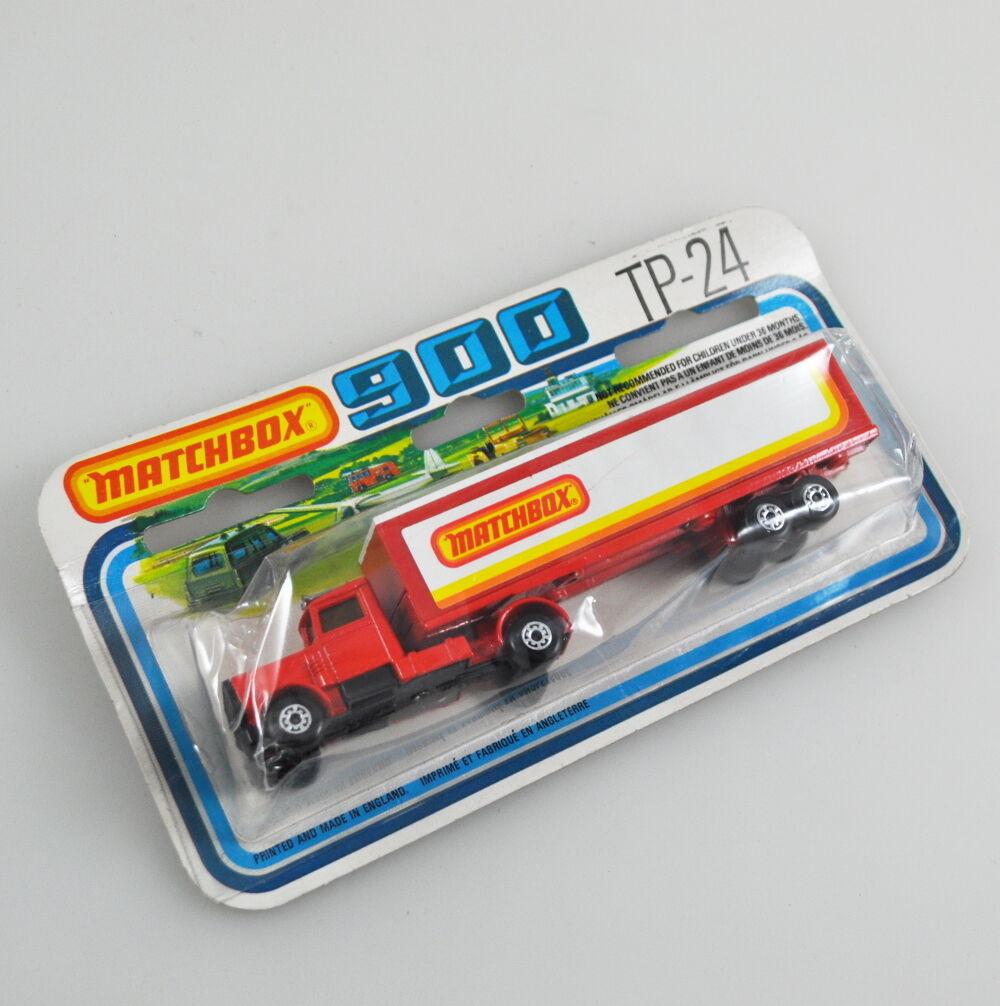 Matchbox 900-tp-24 - Superfast-Long Haul-Articulated Trailer-NOS - 1979