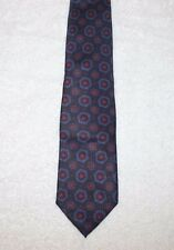 Polo Ralph Lauren Tie Mens Navy Blue with Shapes Silk Neck-Tie Italy NWT $115