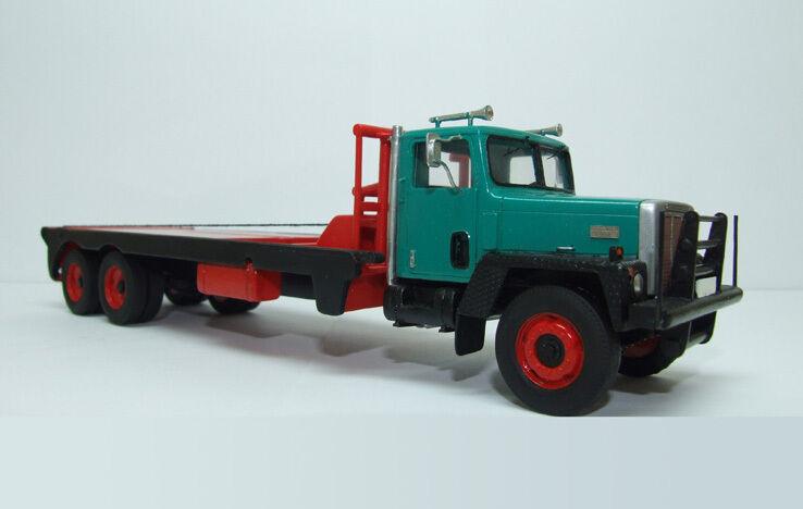 Resin 1 50 International Paystar 5000 Flatbed Oilfield  - Ready Made Model