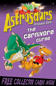 Astrosaurs-The-carnivore-curse-by-Steve-Cole-Paperback-FREE-Shipping-Save-s