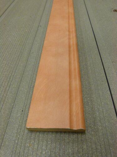 0,42€//m Sockelleiste mediterran rötlich//apricot 70 mm hoch 2400mm lang