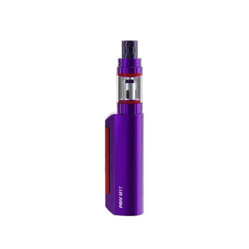 Smok origine Priv M17 Kit 60 w Priv M17 Boîte MOD Vaporisateur avec 2 ml Sitck