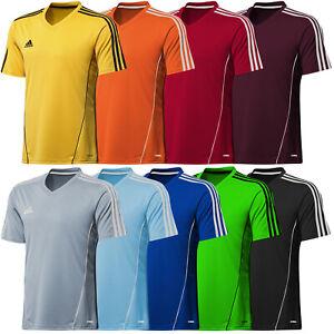 adidas-Climalite-Mens-Estro-Football-Training-Top-Jersey-T-Shirt-Gym-Sport-Run