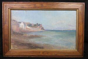 Georges-Ferdinand-Bigot-1860-1927-Bretagne-Heiliger-Malo-Japonismus-Jugendstil