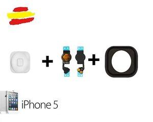 Boton-Home-Flex-Central-para-Iphone-5-Blanco