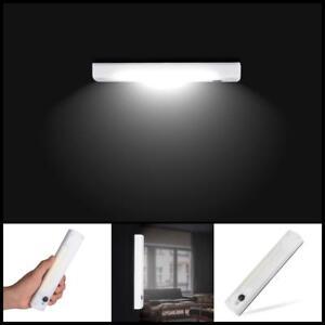 LED-Lichtleiste-Schrank-Leuchten-Nachtlicht-Unterbau-Strahler-Bewegungsmelder
