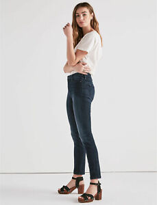 LUCKY-BRAND-DUNGAREES-Women-039-s-High-Rise-Hayden-Skinny-Jeans-Size-6-26-x-30