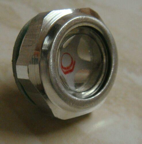 Hydraulic Fluid Oil Tank Level  Indicator 22mm 3/8bspp