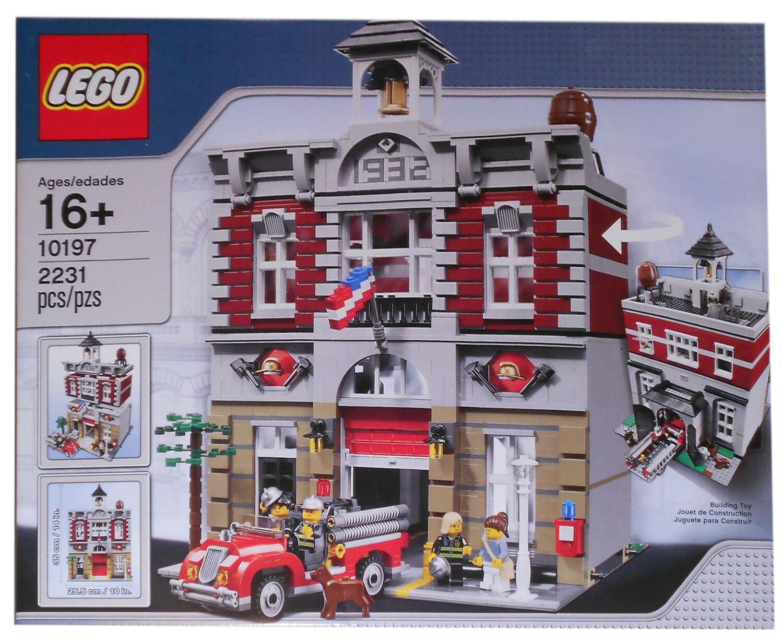 LEGO LEGO LEGO Creator Expert Feuerwache Firestation (10197) versiegelt Neu OVP MISB 6b034c