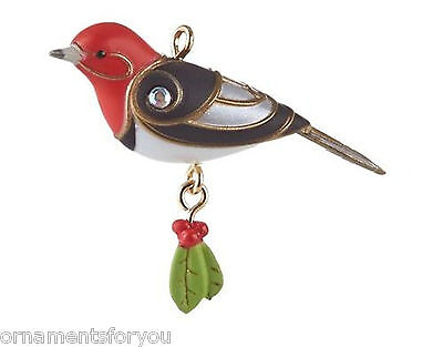 Hallmark 2013 Red headed Woodpecker Miniature Ornament