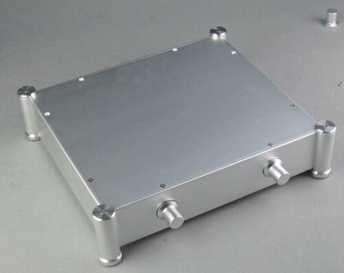 356x84x316mm Aluminium Power Amplifier Chassis Audio Amp Enclosure Case DIY