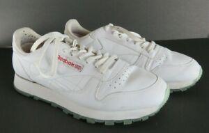 Reebok Classic White Red sz 11.5 Ice