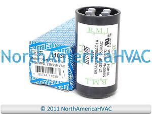 Motor Start Capacitor 21 25 Mfd 220 250 Vac Mars 11038 Ebay