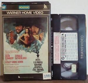 VHS-FILM-Ita-Azione-1855-LA-PRIMA-GRANDE-RAPINA-AL-TRENO-ex-nolo-no-dvd-VHS18