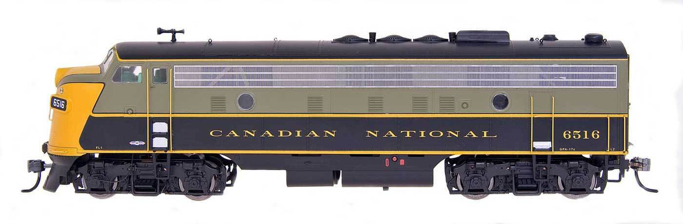 Canadian national rail fp9a w   ege   lok sound system installiert - ho-scale fabrik