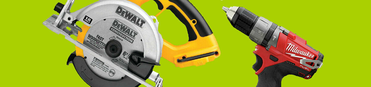 Reconditioned Tools Up to 60% Off