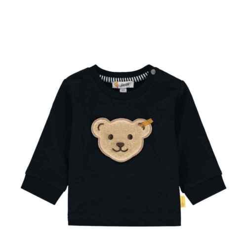 STEIFF Baby Jungen Sweatshirt L002012134 blau Pullover Pulli Gr 62-86 NEU