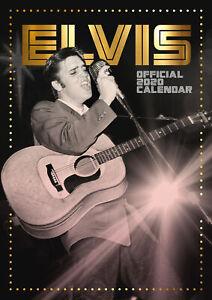 Elvis-Presley-Official-2020-Wall-Calendar-OFFICIALLY-LICENSED-UK-Seller