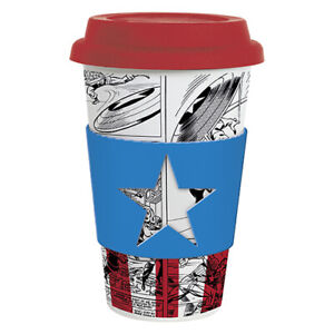 About 350ml Cup Captain Coffee Avengers Mug Marvel America Travel Details xeWErdBQoC