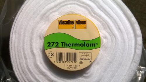 Vilene Vlieseline thermolam H272 Polar//Guata Coser de 2 metros