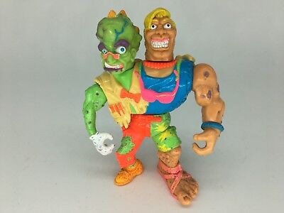 vintage Toxic Crusaders headbanger Playmates Toys:1991 rare