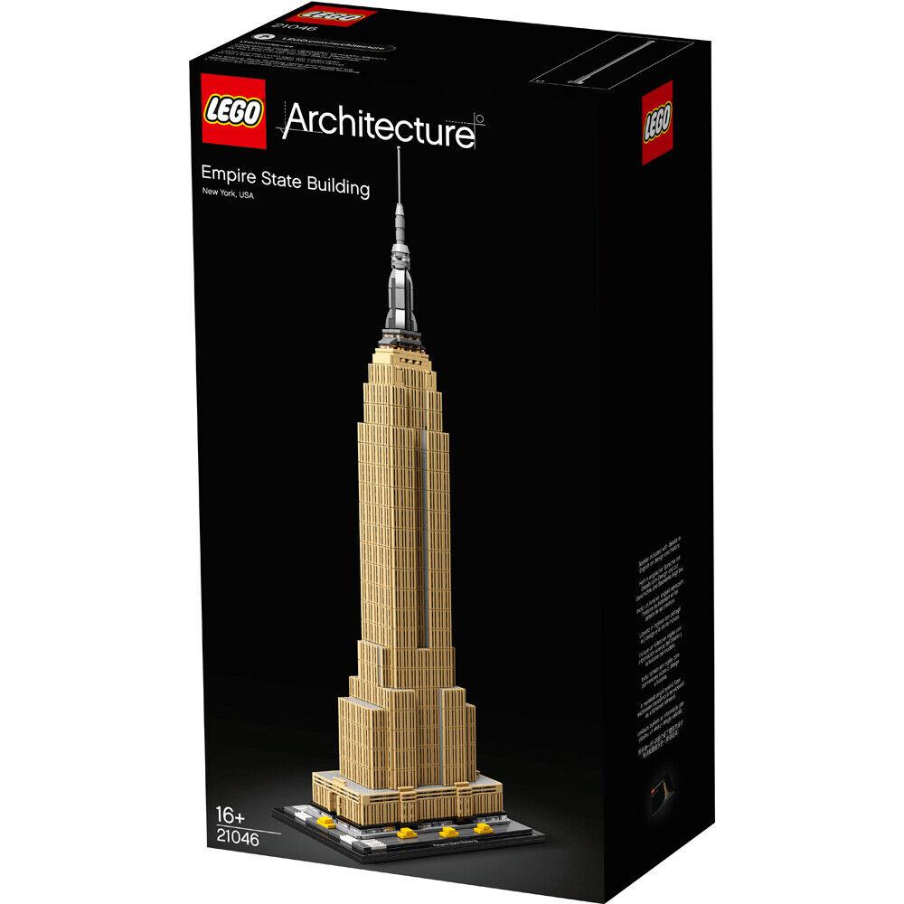 Lego Arquitectura Empire State Building Conjunto de Construcción - 21046