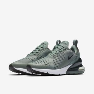 1c0f69a0de Nike Air Max 270 Clay Green Deep Jungle Black White Running Men's ...