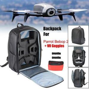 Impermeable-Sac-a-dos-de-stockage-de-drone-Noir-pour-Parrot-Bebop-2-Power-FPV