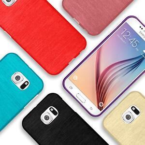 Silikon-Bumper-Case-fuer-Samsung-Galaxy-s6-duenne-ultra-slim-Stossfeste-Rueckschale