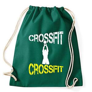 Crossfit Zaino shirt Sacca Verde Art Gym T Allenamento 7AwqEUSI
