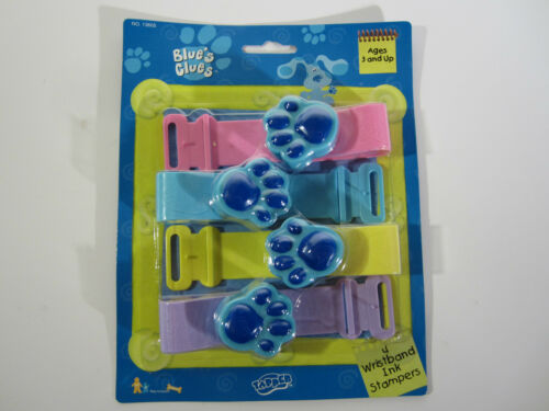 NEW Blues Clues Party Toy Wristband INK Stampers Set MINT NOS MOC Nick Jr STEVE
