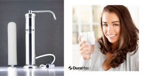 DuraMax-Pure-Drop-Stainless-Steel-Ceramic-Activated-Carbon-Block-Water-Filter