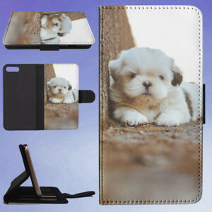 ADORABLE-ANIMAL-VIEW-DOG-PUPPY-FLIP-WALLET-CASE-FOR-APPLE-IPHONE-PHONES