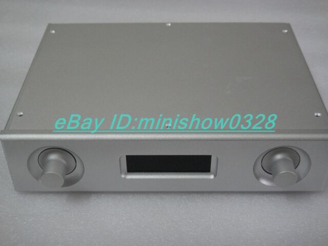 Full Aluminium DAC Chassis Enclosure Case for PCM1794 AK4118 DAC decoder