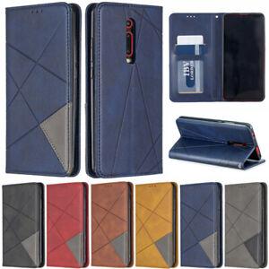 Luxe-ligne-Wallet-cuir-Flip-Case-Cover-Pour-Xiaomi-Redmi-Note-8-T-Note-8-K20-8
